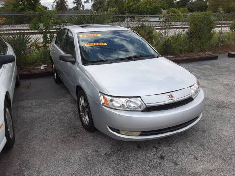 2003 Saturn Ion for sale at Easy Credit Auto Sales in Cocoa FL