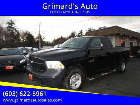 2016 RAM Ram Pickup 1500 for sale at Grimard's Auto in Hooksett, NH