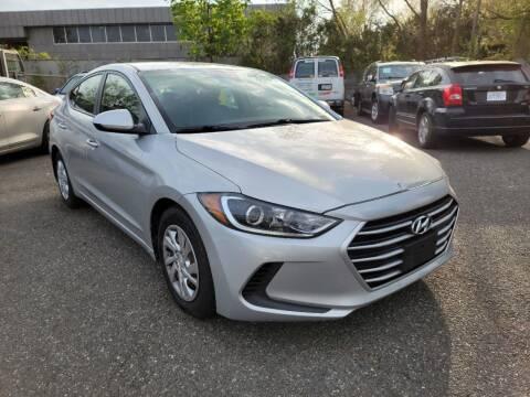 2017 Hyundai Elantra for sale at Moor's Automotive in Hackettstown NJ