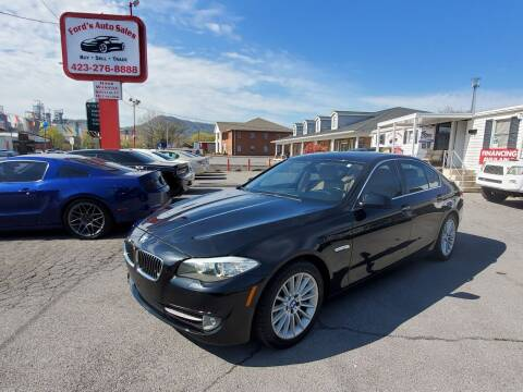 2011 BMW 5 Series for sale at Ford's Auto Sales in Kingsport TN