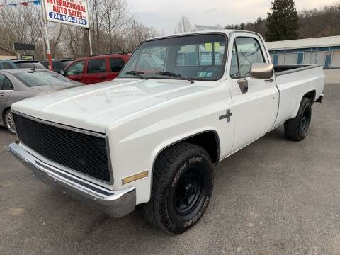 1986 Chevrolet C/K 20 Series for sale at INTERNATIONAL AUTO SALES LLC in Latrobe PA