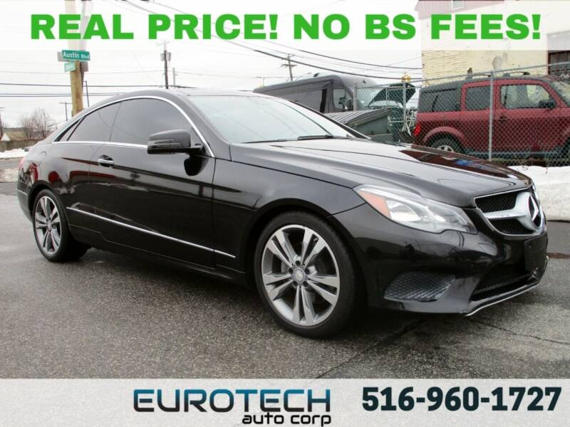 2014 Mercedes-Benz E-Class for sale at EUROTECH AUTO CORP in Island Park NY