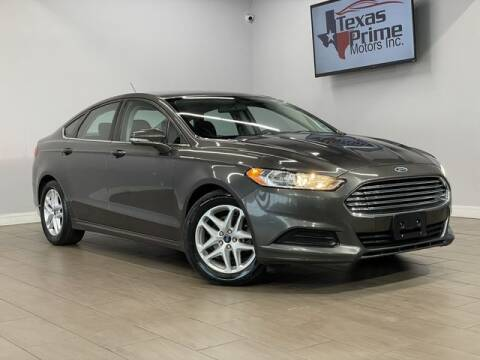 2015 Ford Fusion for sale at Texas Prime Motors in Houston TX
