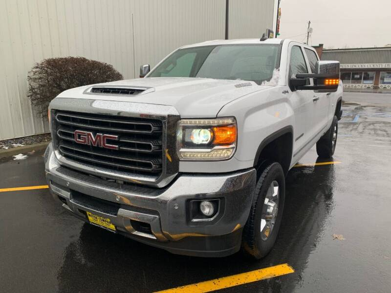 2019 GMC Sierra 2500HD for sale at DAVENPORT MOTOR COMPANY in Davenport WA