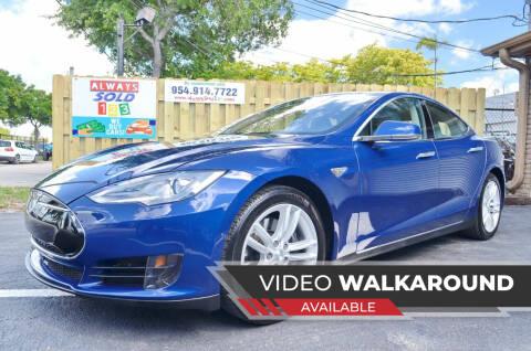 2015 Tesla Model S for sale at ALWAYSSOLD123 INC in Fort Lauderdale FL