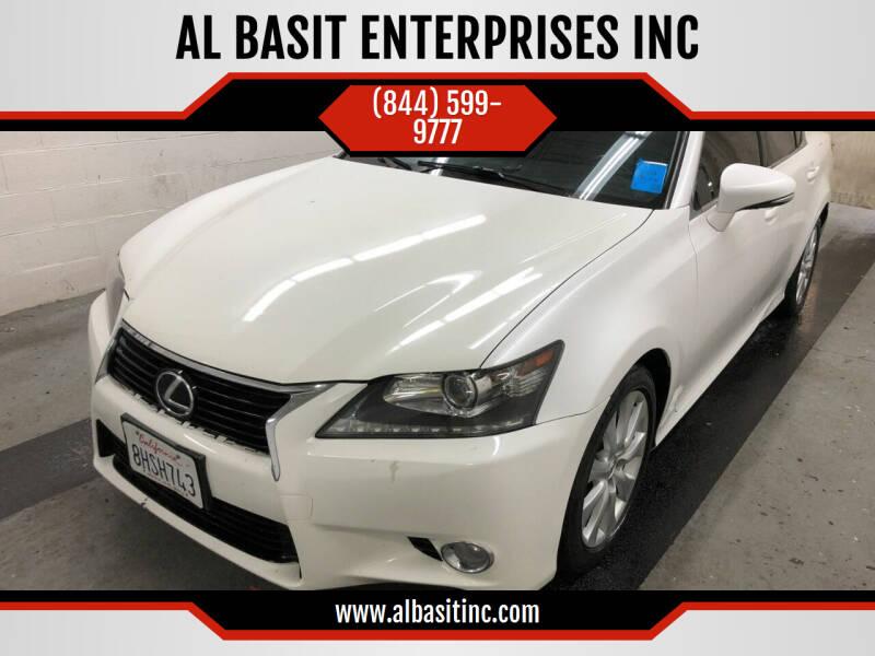 2014 Lexus GS 350 for sale at AL BASIT ENTERPRISES INC in Riverside CA