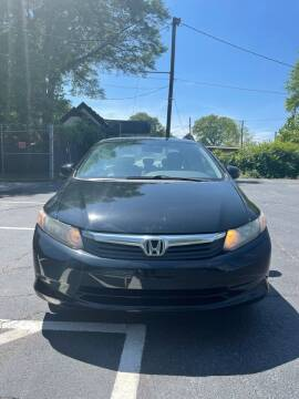 2012 Honda Civic for sale at BIOS AUTO Used Car Sales in Atlanta GA