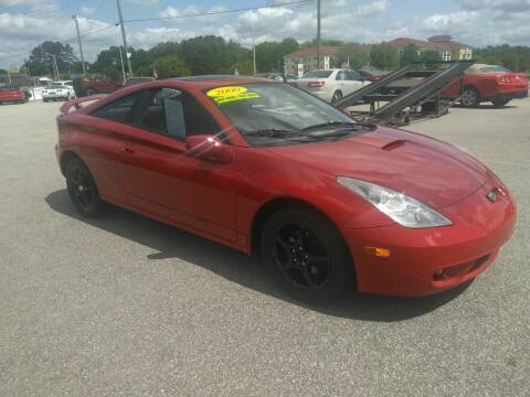 2000 Toyota Celica for sale at Kelly & Kelly Supermarket of Cars in Fayetteville NC