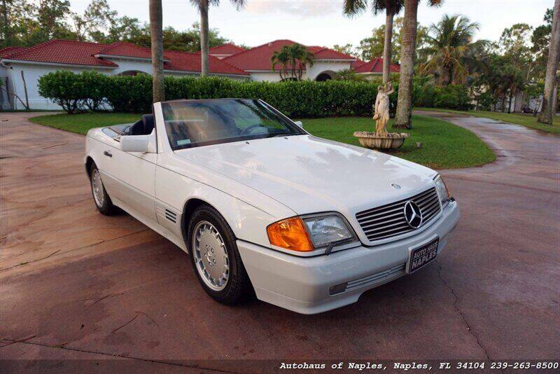 1990 Mercedes-Benz 300-Class for sale at Autohaus of Naples in Naples FL