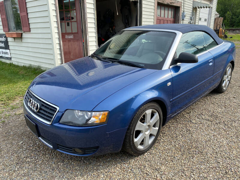 2005 Audi A4 for sale at Richard C Peck Auto Sales in Wellsville NY