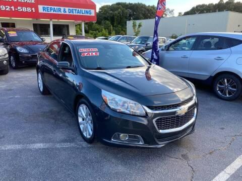 2014 Chevrolet Malibu for sale at Sandy Lane Auto Sales and Repair in Warwick RI