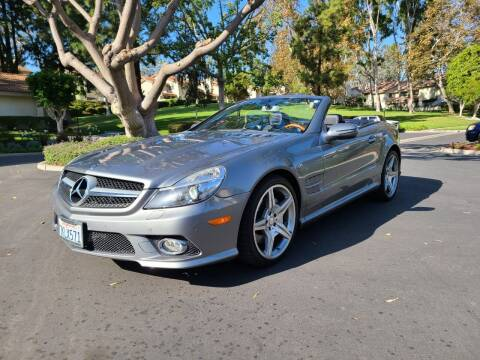 2012 Mercedes-Benz SL-Class for sale at E MOTORCARS in Fullerton CA