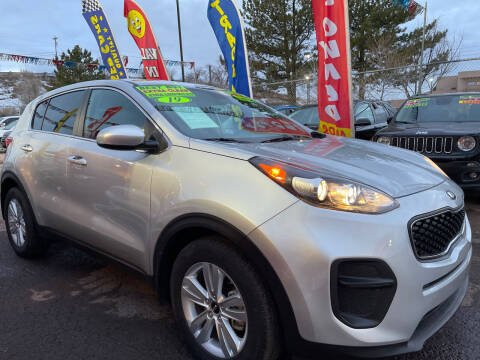 2019 Kia Sportage for sale at Duke City Auto LLC in Gallup NM