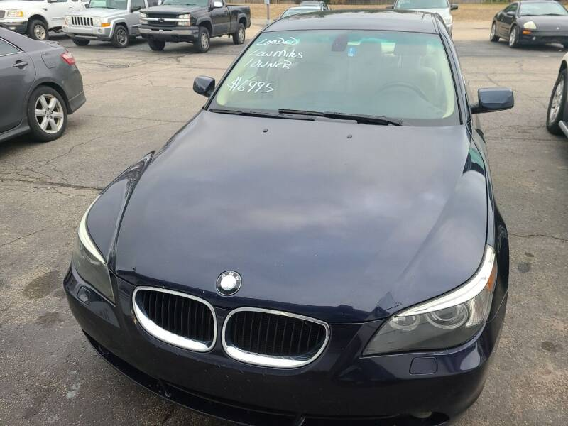 2005 BMW 5 Series for sale at All State Auto Sales, INC in Kentwood MI