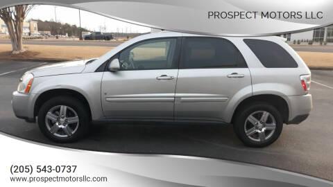 2008 Chevrolet Equinox for sale at Prospect Motors LLC in Adamsville AL