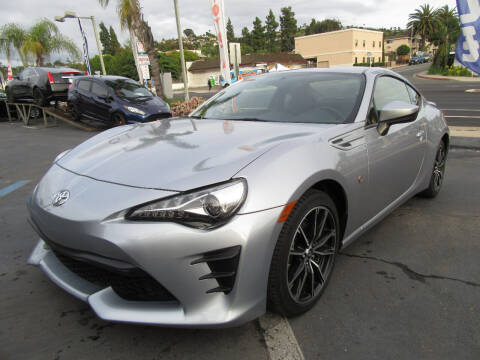 2017 Toyota 86 for sale at Eagle Auto in La Mesa CA