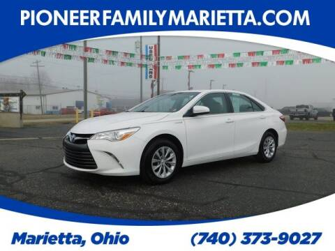 2017 Toyota Camry Hybrid for sale at Pioneer Family preowned autos in Williamstown WV
