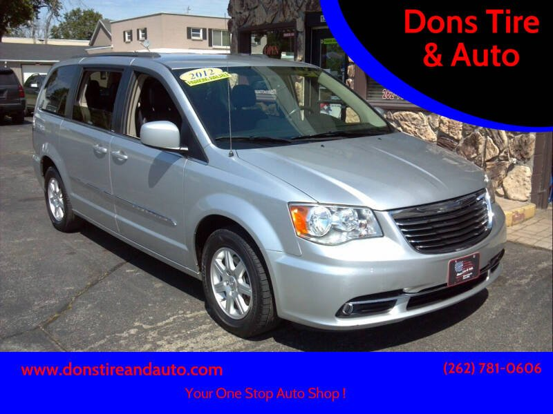 2012 Chrysler Town and Country for sale at Dons Tire & Auto in Butler WI