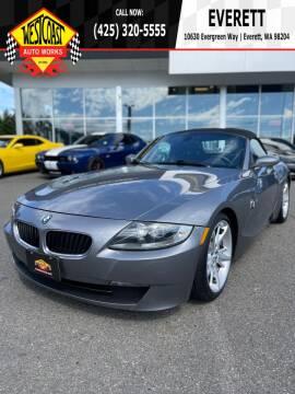 2008 BMW Z4 for sale at West Coast Auto Works in Edmonds WA