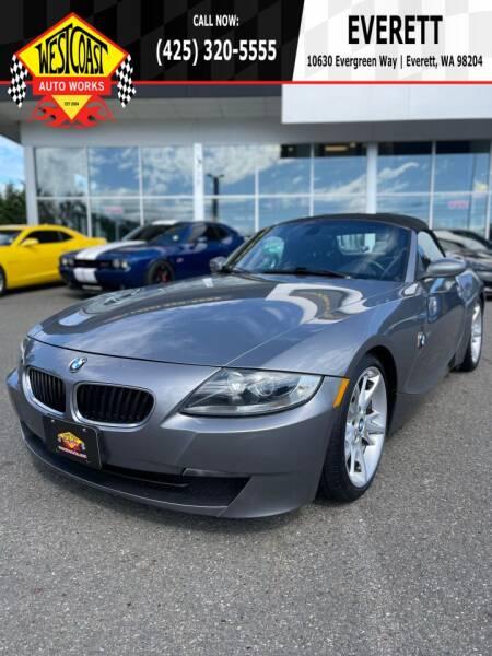 2008 BMW Z4 for sale in Edmonds, WA
