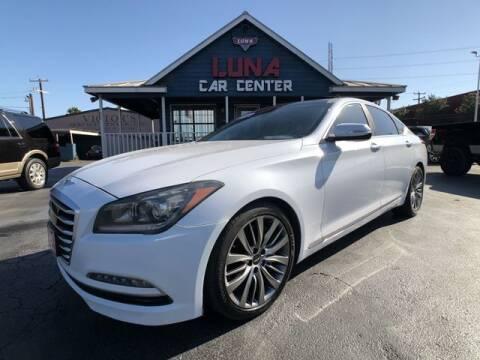 2015 Hyundai Genesis for sale at LUNA CAR CENTER in San Antonio TX