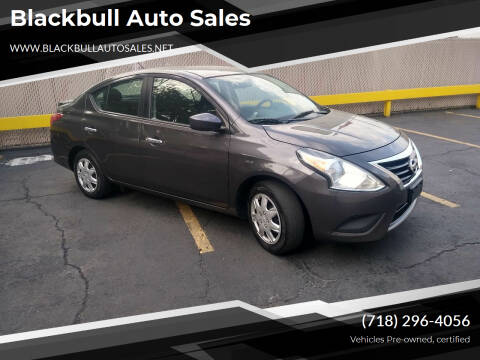 2015 Nissan Versa for sale at Blackbull Auto Sales in Ozone Park NY