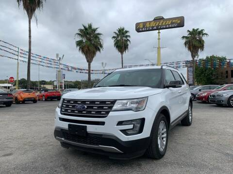 2016 Ford Explorer for sale at A MOTORS SALES AND FINANCE - 6226 San Pedro Lot in San Antonio TX