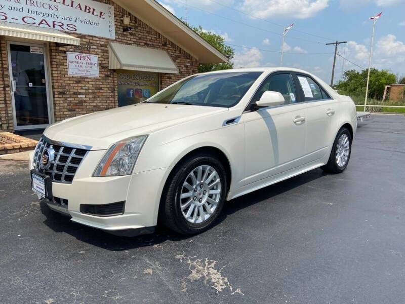 2013 Cadillac CTS for sale at Browning's Reliable Cars & Trucks in Wichita Falls TX