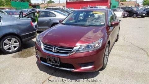 2015 Honda Accord for sale at RVA MOTORS in Richmond VA