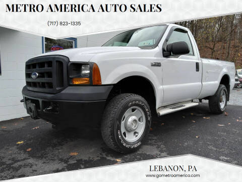 2006 Ford F-250 Super Duty for sale at METRO AMERICA AUTO SALES of Manheim in Manheim PA