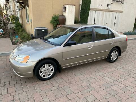 2003 Honda Civic for sale at California Motor Cars in Covina CA