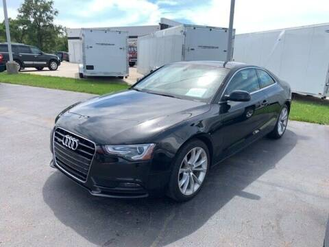 2013 Audi A5 for sale at BORGMAN OF HOLLAND LLC in Holland MI