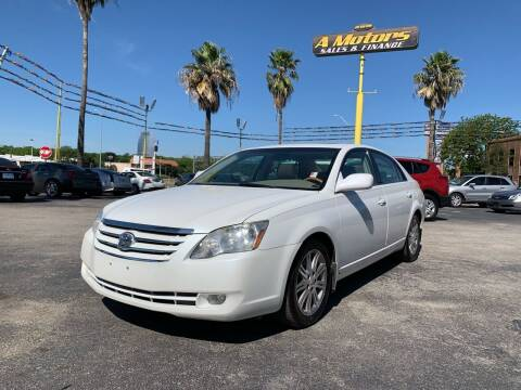 2007 Toyota Avalon for sale at A MOTORS SALES AND FINANCE in San Antonio TX