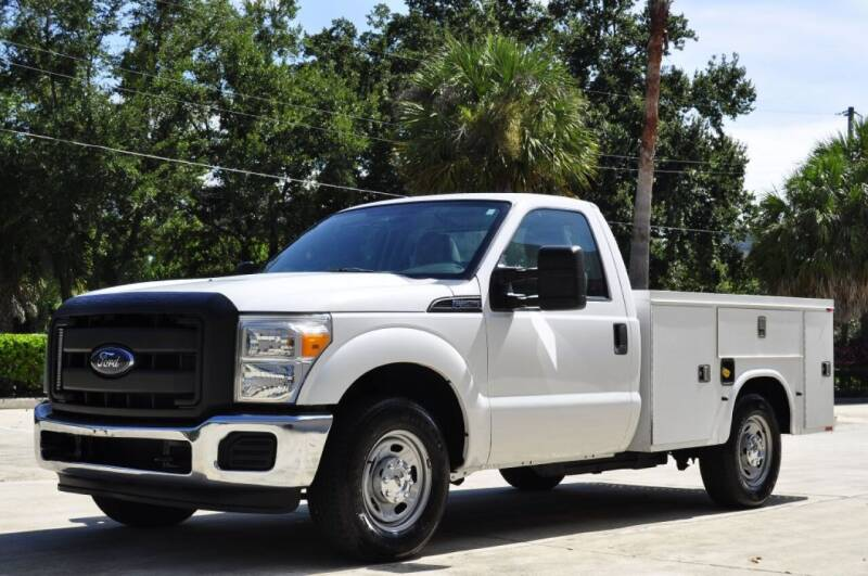 2013 Ford F-250 Super Duty for sale at Vision Motors, Inc. in Winter Garden FL