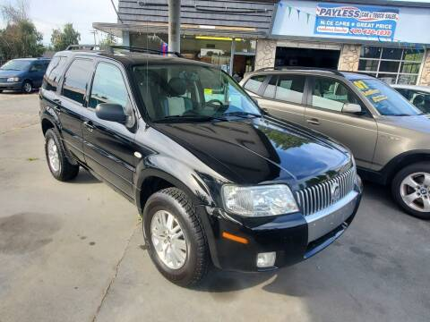 2007 Mercury Mariner for sale at Payless Car & Truck Sales in Mount Vernon WA