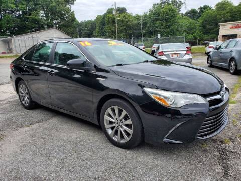 2016 Toyota Camry Hybrid for sale at Import Plus Auto Sales in Norcross GA