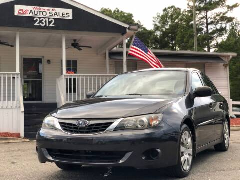 2008 Subaru Impreza for sale at CVC AUTO SALES in Durham NC