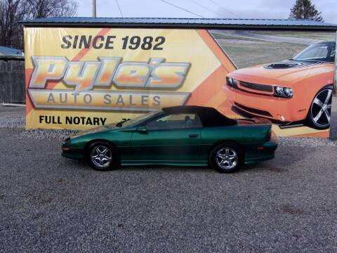 1997 Chevrolet Camaro for sale at Pyles Auto Sales in Kittanning PA