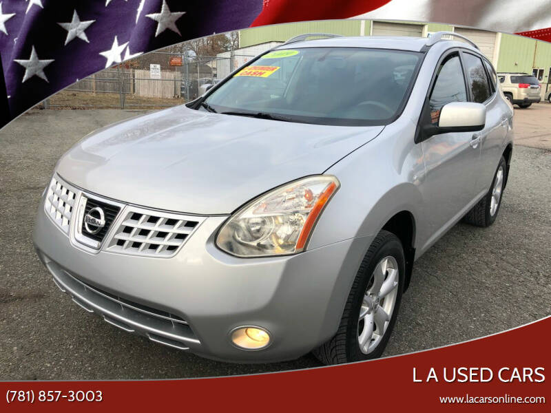 2009 Nissan Rogue for sale at L A Used Cars in Abington MA