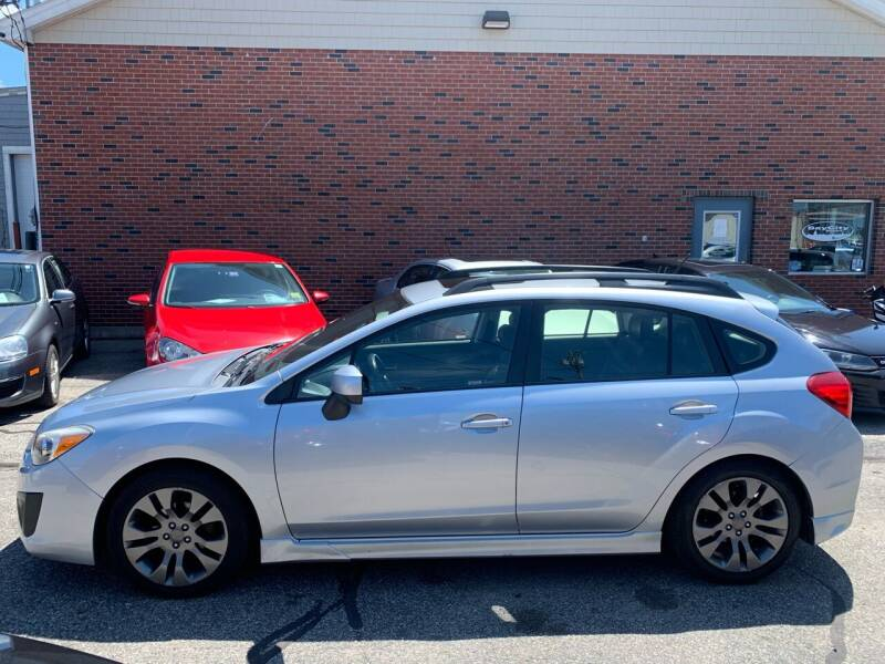 2013 Subaru Impreza for sale at BAY CITY MOTORS in Portland ME