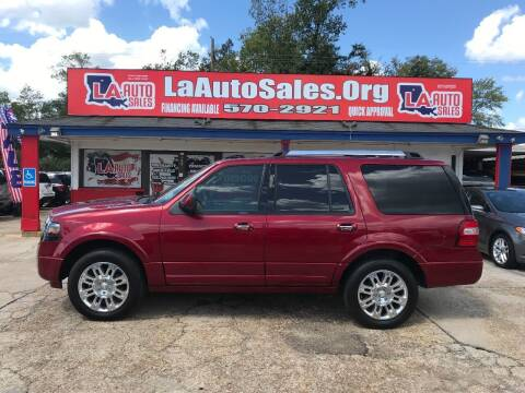2013 Ford Expedition for sale at LA Auto Sales in Monroe LA