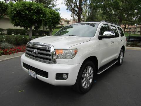 2010 Toyota Sequoia for sale at E MOTORCARS in Fullerton CA