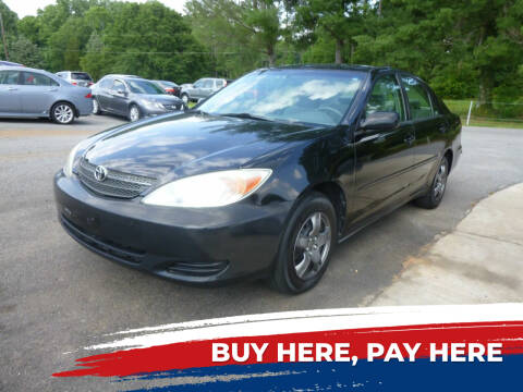 2004 Toyota Camry for sale at Ed Steibel Imports in Shelby NC