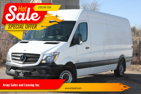 2015 Mercedes-Benz Sprinter Cargo for sale at Ariay Sales and Leasing Inc. in Denver CO