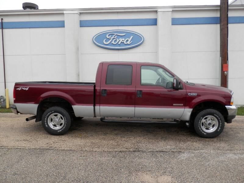 2004 Ford F-250 Super Duty for sale at Welterlen Motors in Edgewood IA