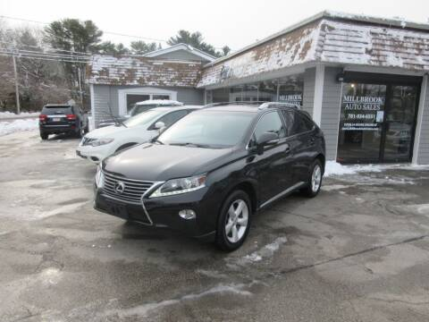2013 Lexus RX 350 for sale at Millbrook Auto Sales in Duxbury MA