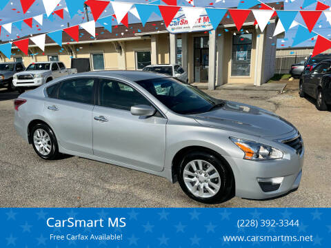2014 Nissan Altima for sale at CarSmart MS in Diberville MS