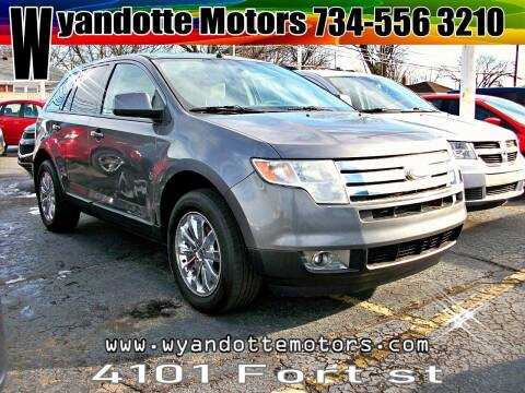2010 Ford Edge for sale at Wyandotte Motors in Wyandotte MI