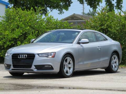 2015 Audi A5 for sale at DK Auto Sales in Hollywood FL