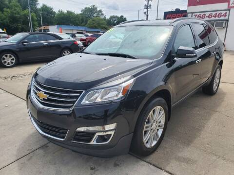 2015 Chevrolet Traverse for sale at Quallys Auto Sales in Olathe KS